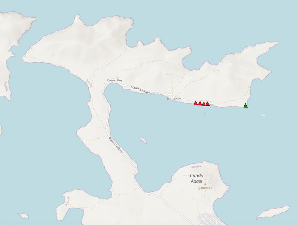 Cunda Adası Kamp Alanları